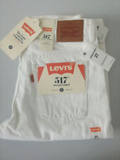 Levis 517 boot cut jeans in White