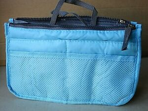 NEW Bag Organiser Blue 27 x 16 x 9 cm