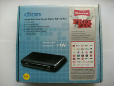 Dion Single Scart Low Energy Digital Set Top Box UK Freeview STB1AW09