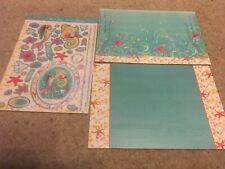 Hunkydory Kit - Under The Sea - Die Cut Topper Sheet & 2 Backing Cards