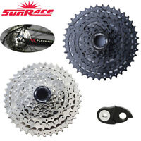 SunRace 8 Speed 11-40T Cassette fit Shimano SRAM MTB Wide Ratio & Derailleur