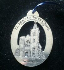 St. John'S Lutheran Church 150Th Annv. 2003 Tremont Pa. Ornament