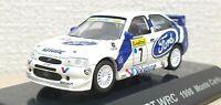 1/64 CM's Rally 1998 FORD ESCORT WRC MONTE CARLO valvoline #7 diecast model