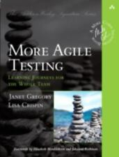 More Agile Testing by Lisa Crispin and Janet Gregory (2014, Paperback) : Janet G