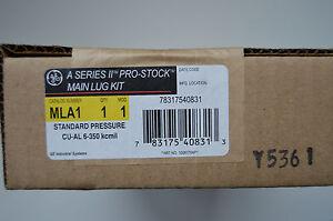 GE MLA1 Main Lug Kit, 225 Amp, Pressure Lug, 350 MCM
