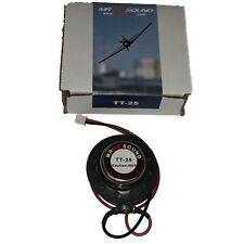 MrRCSound TT-25 Transducer Speaker for RC Aircraft Airplane Helicopter