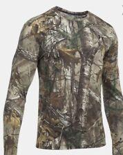 NWT Under Armour Early Season Hunting Long Sleeve Shirt Size 3XL Real Tree Edge
