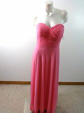 AFTER SIX WOMENS COTTON CANDY PINK 100% POLYESTER FORMAL GOWN DRESS SIZE 10 CUTE
