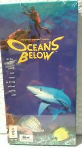 NEW Oceans Below (3DO, 1993)  Long Box Panasonic 3DO 3D0 FACTORY SEALED RARE