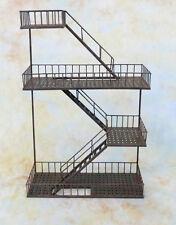Hängeregal amerikanische Feuertreppe Treppe Geländer Wandregal Regal  E4135-a