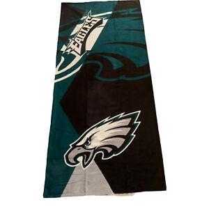 "NFL Oversized Beach Towel 34 x 72"" Philadelphia Eagles Cotton Blend New"