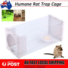 Multi Catch Live Rat Trap Cage Mouse Mice Traps Animal Pest Rodent Bait Catch AU