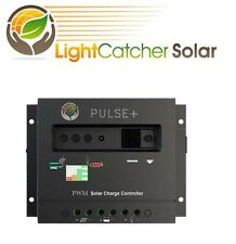 LCS 30A PWM Solar Panel Charge Controller Battery Regulator 12V/24V with LED