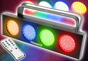 """BeamZ """"DJ Bank"""" LED Party Lichteffekt Lichtorgel Lichtanlage m. IR-Fernbedienung"""