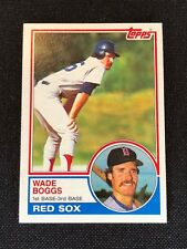 1983 Topps Wade Boggs Rookie RC #498 MINT HOF Boston Red Sox *67