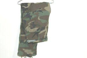 Army Combat Pants BDU Hot Weather Medium Long Woodland Camo Paintball Hunting