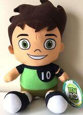 Ben 10 Cartoon Network Plush Large 11''. Licensed Toy. Ben Tennyson Green. NEW.