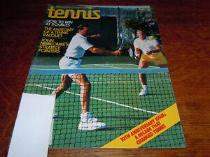 """VINTAGE """" TENNIS """" MAGAZINE - AUGUST 1975"""