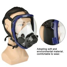 Painting Spraying Air Fed Supplied Gas Mask System Full Face Airline Respirator