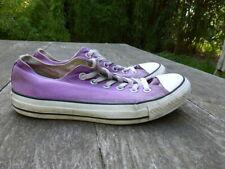 Converse Allstars Canvas Shoe Trainer Purple  UK 6 EUR 37.5