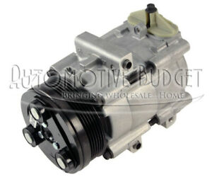 A/C Compressor w/Clutch for Various Ford Lincoln and Mercury Vehicles - NEW