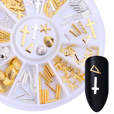 Niet 3D Nagelsticker Strass Stud Nageldesign Nail Art Studs Rivet Dekoration