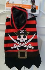 Dog Puppy Pirate Costume Size S