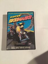 Sega Mega Drive System Spiel SUPER SKIDMARKS mit OVP + Anleitung für Sammler