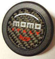 Momo Real Carbon Fibre Steering Wheel Horn Button Black OMP NARDI NISMO