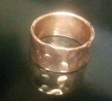 Handmade Solid Copper Band, Men or Women, Any Size