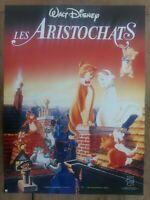 Plakat Les Aristocats Walt Disney Zeichen- Anime Kinder Kinderzimmer 40x60cm
