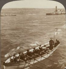 Marines From a German Warship in the Mediterranean - Underwood Stereoview 10