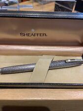 SHEAFFER IMPERIAL STERLING SILVER FOUNTAIN PEN- BOXED-MED NIB- USA