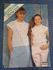 Littlewoods Women's Sweater Top Knitting Pattern