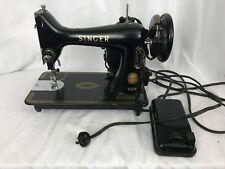Vintage Singer 99K Sewing Machine and Case EK602551