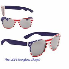 26b6c890d73 MENS AND WOMENS Red White and Blue USA Stars and Stripes SUNGlasses 443