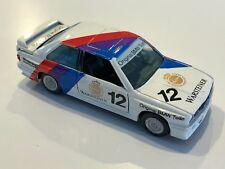 """GAMA BMW M3 E30 """"Original BMW Teile"""" Rennversion in 1:43 scale #81154000"""