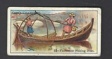 COPE - BOATS OF THE WORLD - #12 FLORENTINE FISHING BOAT