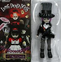 Living Dead dolls Sybil as The Mad Hatter 30cm MEZCO doll Alice in Wonderland