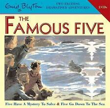 Five Have a Mystery to Solve & Five Go Down to the Sea by Enid Blyton (CD-Audio, 2008)