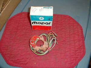 NOS MOPAR 1967-9 C BODY RED PLATE TURN SIGNAL SWITCH