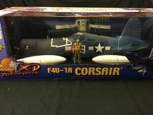 REDUCED Rare Perfect Ultimate Soldier 1/18th Scale F4U-1A Corsair