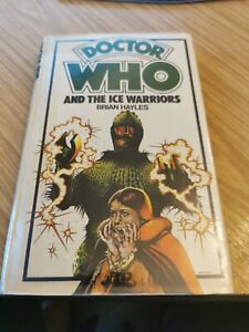 DOCTOR DR WHO ALLAN WINGATE HARDBACK - THE ICE WARRIORS EX LIB