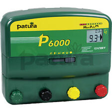 PATURA P 6000 Weidezaungerät  12 + 230 Volt NEU, jetzt 20% mehr Leistung