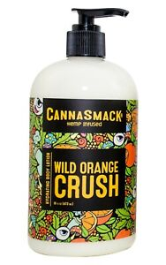 CannaSmack Wild Orange Crush Hemp Body Lotion 16oz