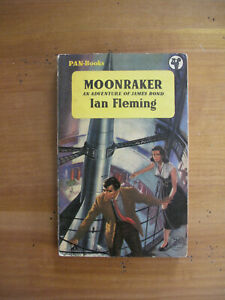 MOONRAKER - IAN FLEMING 1ST PAN PAPERBACK EDITION 1956