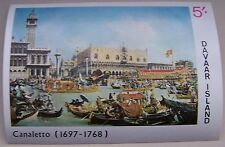 Great Britian - Davaar Island - Block Canaletto, Venice MNH imperforated