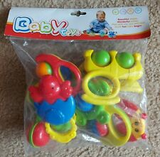Baby Toys _Baby Rattles Grab Toys Infant Spin Shaking Bell Early Educational Toy