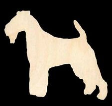 Dog Welsh Terrier Unfinished Craft Wood Cutout#1126-3.5