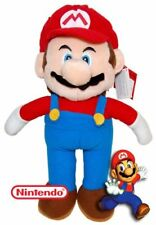 "9"" super mario bros plush toy teddy wii game new with tag"